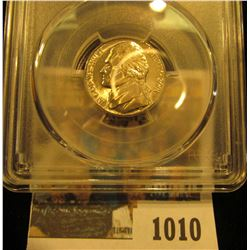 1010 _ 2001 D Jefferson Nickel PCGS slabbed MS66FS.