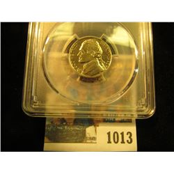 1013 _ 1993 D Jefferson Nickel PCGS slabbed MS66FS.