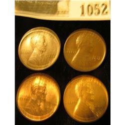 1052 _ (2) 1914P Fine, 41 D Unc, & 1941 S Unc Lincoln Cents.