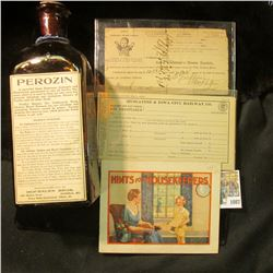 "1087 _ ""Lubin's Pharmacy Cor. Clinton and College Sts. Iowa City, Iowa Hints for Housekeepers"" Bookl"