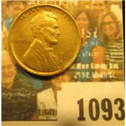 1093 _ 1910 S Lincoln Cent, Fine.