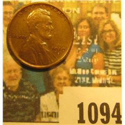 1094 _ 1910 S Lincoln Cent, Very Fine.