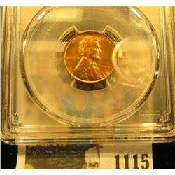 1115 _ 1941 S Lincoln Cent, PCGS slabbed MS65RD