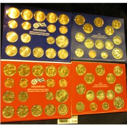 1146 _ 2009 (36 coins) & 2012 (28 coins) U.S. Philadelphia & Denver Uncirculated Coin Sets in origin