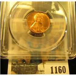 1160 _ 1946 P Lincoln Cent, PCGS slabbed MS65RD