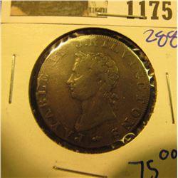 1175 _ 1795 Middlesex/Brunswick Half Penny Token.