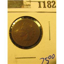 1182 _ 1874 U.S. Indian Head Cent.