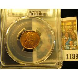 1189 _ 1937 D Lincoln Cent, PCGS slabbed MS63RD