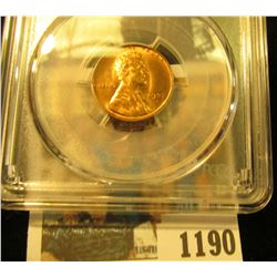 1190 _ 1937 D Lincoln Cent, PCGS slabbed MS64RD