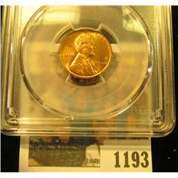 1193 _ 1938 D Lincoln Cent, PCGS slabbed MS65RD