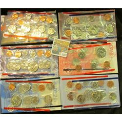 "1217 _ 1995, 96 (no ""W"" Dime), 97, 98, & 99 U.S. Mint Sets. All original as issued. Red Book Value $"