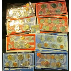 "1218 _ 1996  (no ""W"" Dime), 1999 P, 2000 P & D, 2000 P, 2003 D, 2005 D, & 2006 D U.S. Mint Sets. All"