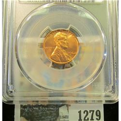 1279 _ 1962 P Lincoln Cent, PCGS slabbed MS65RD.