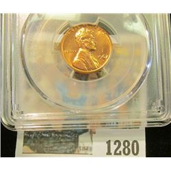 1280 _ 1962 D Lincoln Cent, PCGS slabbed MS65RD.