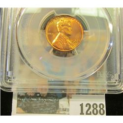 1288 _ 1964 D Lincoln Cent, PCGS slabbed MS65RD.