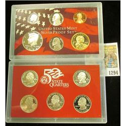1294 _ 2004 S U.S. Silver Proof Set. Original as issued.