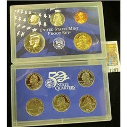 1297 _ 2001 S U.S. Proof Set. Original as issued.