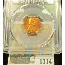 1314 _ 1954 D Lincoln Cent, PCGS slabbed MS65RD.