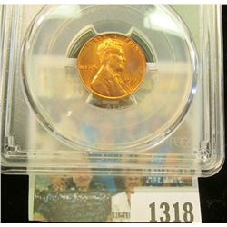 1318 _ 1955 P Lincoln Cent, PCGS slabbed MS65RD.