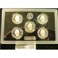 1326 _ 2015 S U.S. Silver America the Beautiful Proof Quarter Set, original as issued. (5 pcs.).