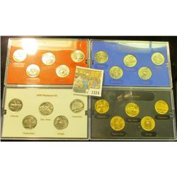 1374 _ 1999 Denver Edition, Philadelphia Edition, Platinum Edition, & Gold Edition State Quarter Col