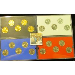 1376 _ 2000 Denver Edition, Philadelphia Edition, Platinum Edition, & Gold Edition State Quarter Col