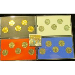 1378 _ 2001 Denver Edition, Philadelphia Edition, Platinum Edition, & Gold Edition State Quarter Col
