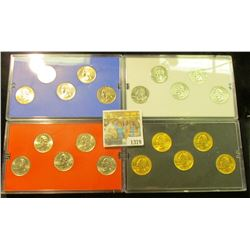 1379 _ 2001 Denver Edition, Philadelphia Edition, Platinum Edition, & Gold Edition State Quarter Col