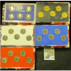 1392 _ 2005 Denver Edition, Philadelphia Edition, San Francisco Mint Clad Proof Set, Platinum Editio