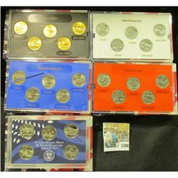 1396 _ 2006 Denver Edition, Philadelphia Edition, San Francisco Mint Clad Proof Set, Platinum Editio