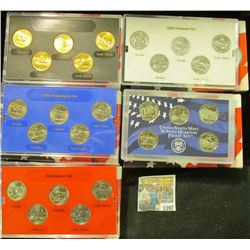 1397 _ 2006 Denver Edition, Philadelphia Edition, San Francisco Mint Clad Proof Set, Platinum Editio