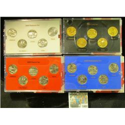 1401 _ 2008 Denver Edition, Philadelphia Edition, Platinum Edition, & Gold Edition State Quarter Col