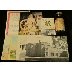 "1436 _ Early 1900 era Medicine Bottle ""Lilly Oleoresin No. 2 Aspidium, U.S.P""; ""Biagio's/Family/Ente"