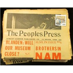"""1460 _ (39) different issues of """"The Peoples Press Street Corner Publishing Co. Ft. Dodge, Iowa"""" New"""