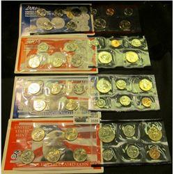 1520 _ 2003 & 2004 P & D U.S. Mint Sets. Original as issued.