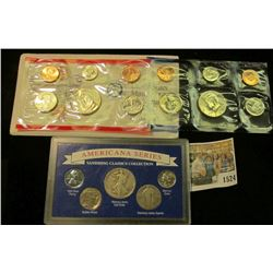"1524 _ 1992 U.S. Mint Set, original as issued & ""Americana Series Vanishing Classics Collection"" inc"