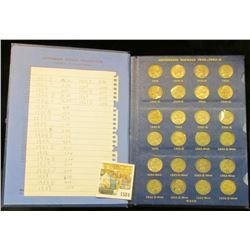 1584 _ 1938-61D Complete Set of Jefferson Nickels in a Deluxe Whitman album. The 1950 D is BU.