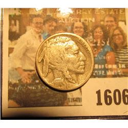 1606 _ 1918 S Semi-key Date Buffalo Nickel.