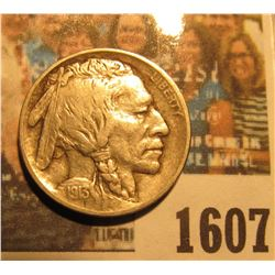 1607 _ 1913 P Type One Buffalo Nickel.