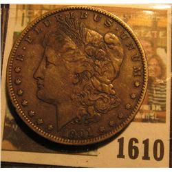 1610 _ 1901 S U.S. Morgan Silver Dollar.