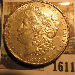 1611 _ 1878 S U.S. Morgan Silver Dollar. Super nice grade.