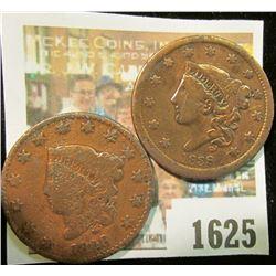 1625 _ 1828 & 1838 U.S. Large Cents.