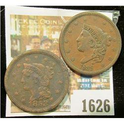 1626 _ 1838 & 1853 U.S. Large Cents.