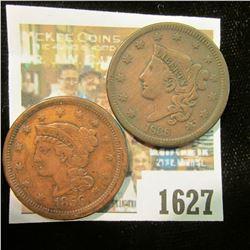 1627 _ 1838 & 1856 U.S. Large Cents.