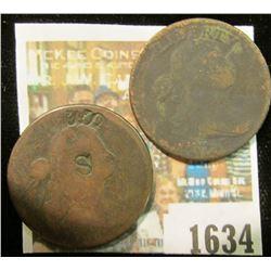 1634 _ 1798 & 1807 U.S. Large Cents.