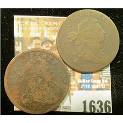1636 _ 1797 & 1800 U.S. Large Cents.