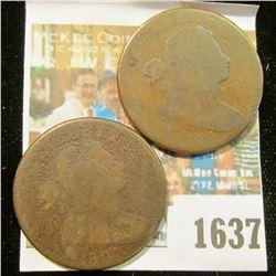 1637 _ 1798 & 1807 U.S. Large Cents.