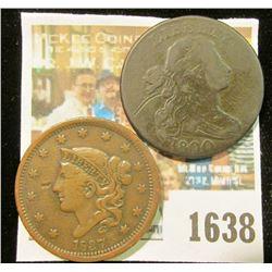 1638 _ 1800 & 1837 U.S. Large Cents.