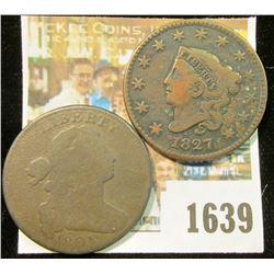 1639 _ 1801 & 1827 U.S. Large Cents.