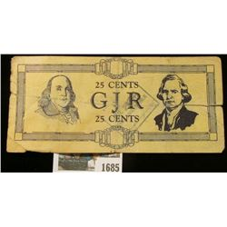 "1685 _ Rare George Junior Republic Scrip from 1933. Doc said it was ""Not Posted Stamped"" but it appe"